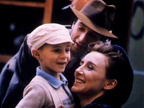Scene from the movie 'Life is Beautiful'
