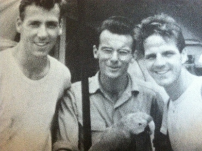 Ed McCully, Pete Fleming, and Jim Elliot