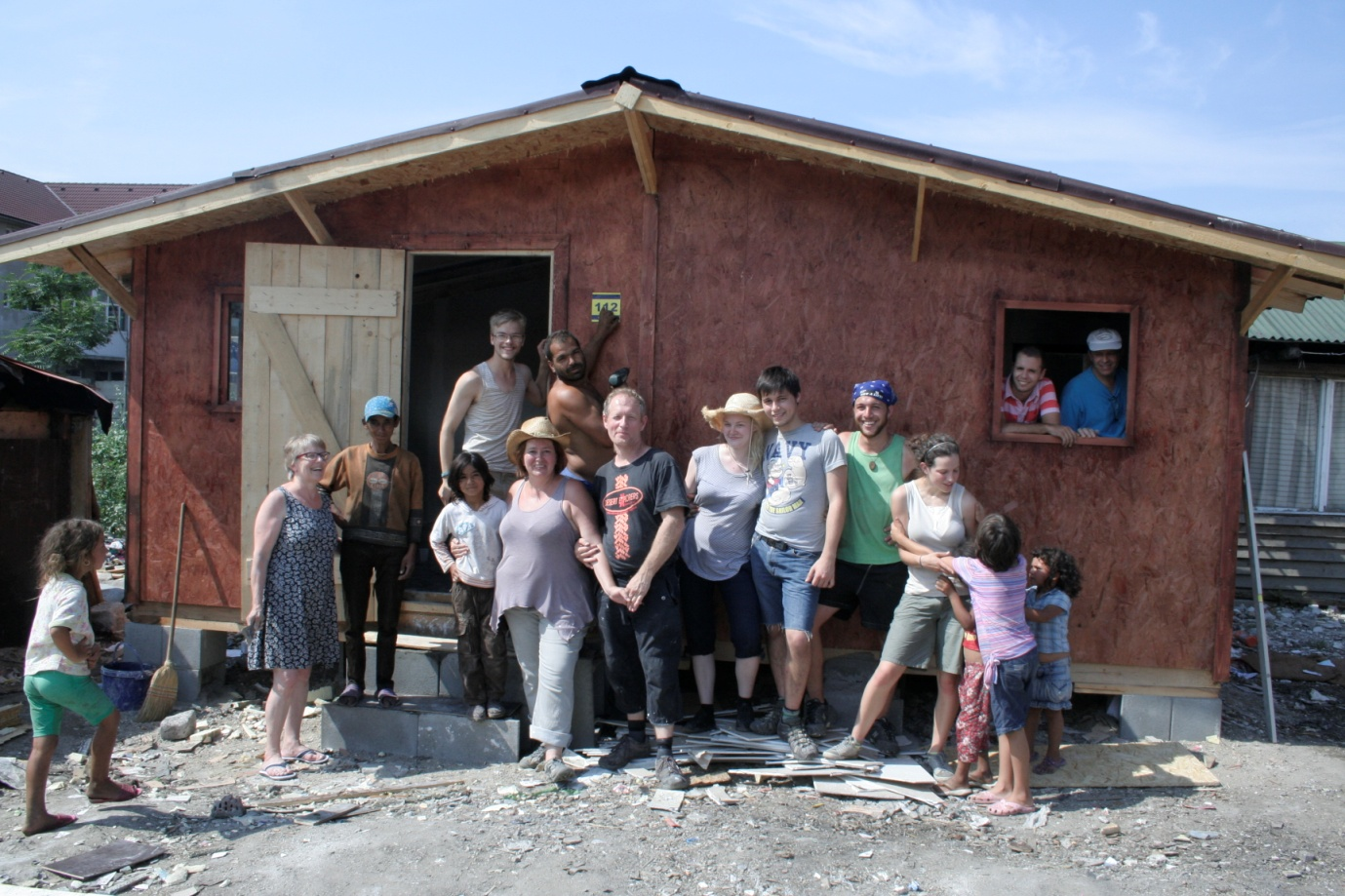New House for Romanian Gypsies