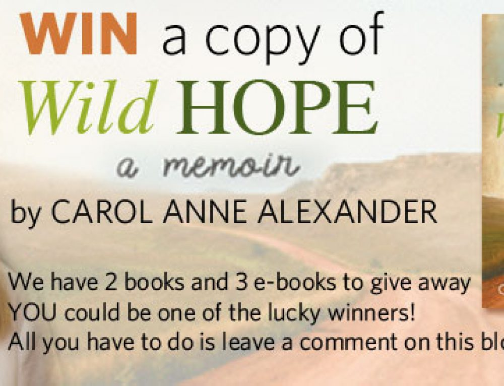 Wild Hope (2 books and 3 e-books to be won)