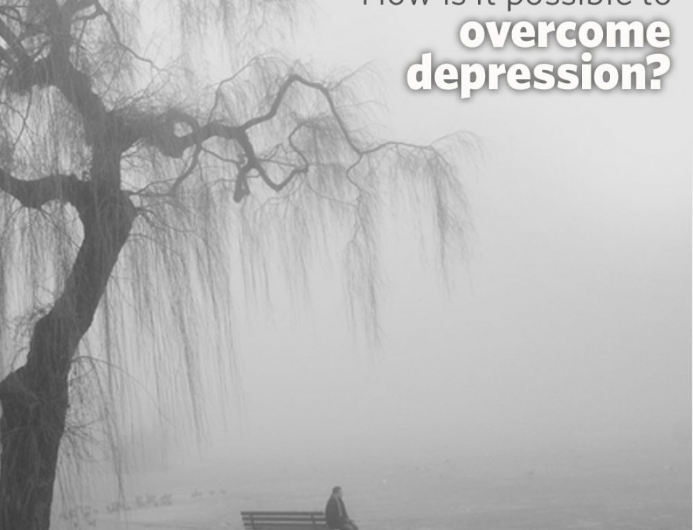 How is it possible to overcome depression?