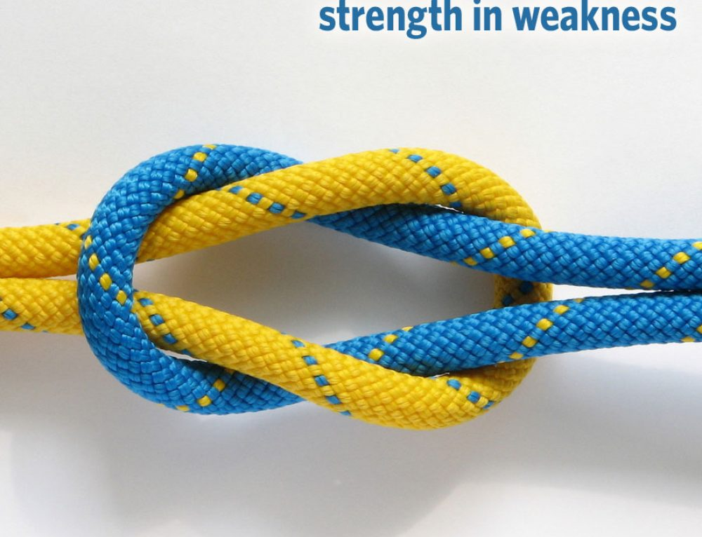 4 truths to give you strength in weakness